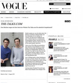 Vogue.de---Launch